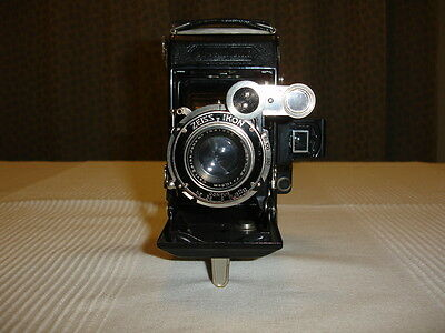 Zeiss Ikon 6X9  Format  Folding  Camera  With  Coupled  Rangefinder + Case