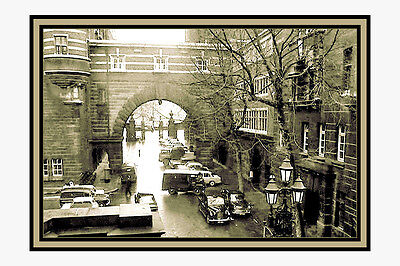 Photo Taken From A 1967 Image Of  Scotland Yard / Cannon Row  Police Station