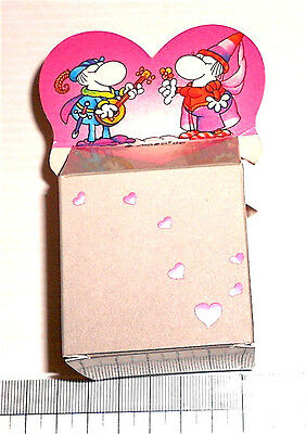 MORDILLO 1985 Mondadori italy tiny candy box - scatola in cartoncino love