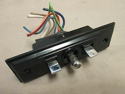 Gm 1977-1990 Power Seat Switch 6 Pin With Wiring Harness