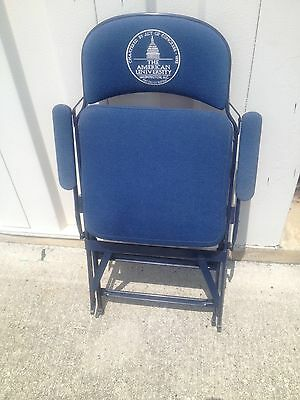 Clarin  Boxx Seats Vintage American University -Washington DC Folding Chair