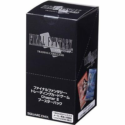 Final Fantasy Trading Card Game Chap.II Booster Pack FF TCG Japanese