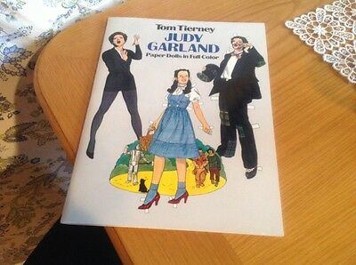 Judy Garland Paper Dolls in full color - Tom Tierney - Uncut