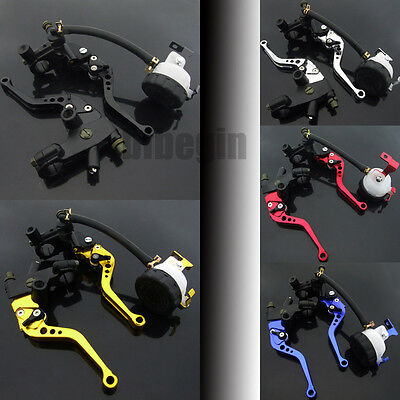 """Universal Motorcycle 7/8"""" Universal Hydraulic Brake Master Cylinder Clutch Lever"""