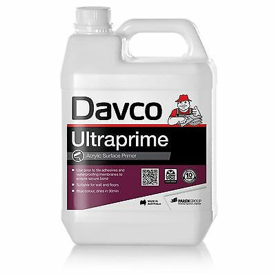 Davco ULTRAPRIME ACRYLIC SURFACE PRIMER 1L Suits Wall & Floors, BLUE *Aust Made