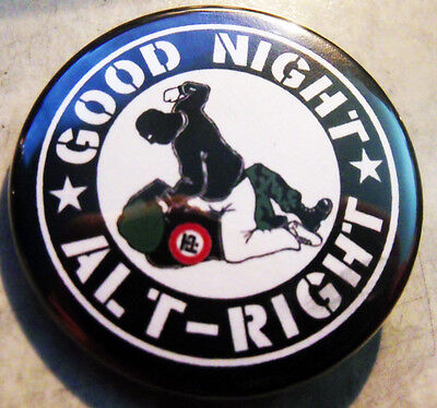 """12 GOOD NIGHT ALT-RIGHT pinback buttons badges 1.75"""""""