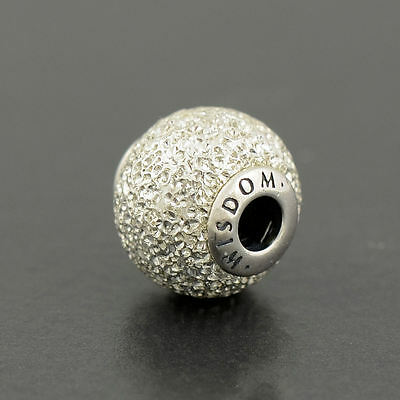 Authentic Genuine Pandora Silver Essence Collection WISDOM Charm - 796016