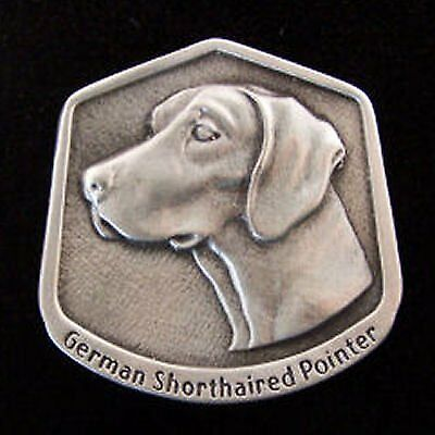 German Shorthaired Pointer Fine Pewter Dog Breed Ornament
