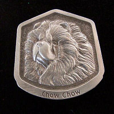 Chow Chow Fine Pewter Dog Breed Ornament