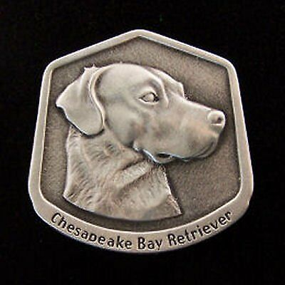 Chesapeake Bay Retriever Fine Pewter Dog Breed Ornament