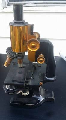 Vintage Spencer Microscope Buffalo USA