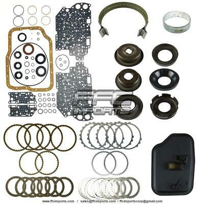 FN4A-EL 4F27E Super Master Rebuild Kit W/ Pistons 00-UP MAZDA 4SPEED 3 6 Protege