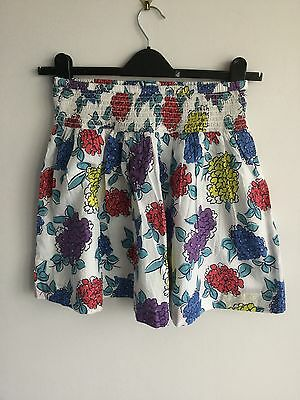 Mini Boden Multi Coloured 100% Cotton Skirt Age 13-14 Years