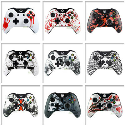 Patterned Front Shell Faceplate Repair for Microsoft Xbox One Controller