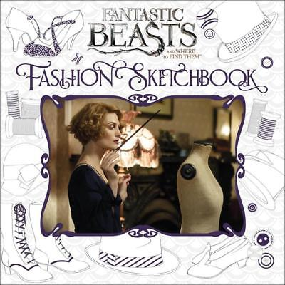 FANTASTIC BEASTS & Where to Find them FASHION SKETCHBOOK