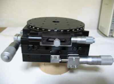 CHUO SEIKI X Y Rotation 3 Axis Roller Guide Stage