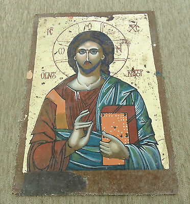 Reproduction Antique Orthodox Christianity Painted Painting Russian Icon -5