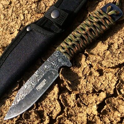"""Defender Xtreme 9"""" High Quality Hunting Tactical Survival Sharp Knife Camo Color"""