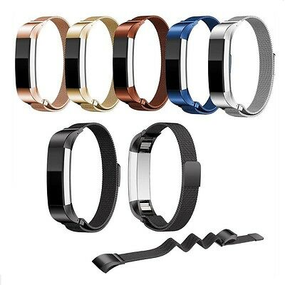 New Milanese Stainless Steel Watch Band Strap Bracelet For Fitbit Alta Tracker