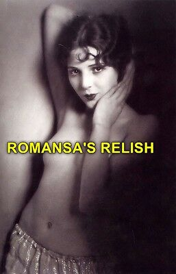 vintage erotic 8X10 photographic nude MILLI RONSON 1900's vint475