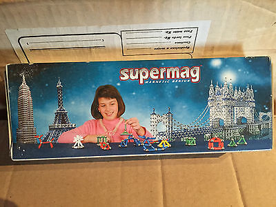 Supermag Discover Multicolor 22 Pz  Rosso Vintage New!!!!!!!!!!
