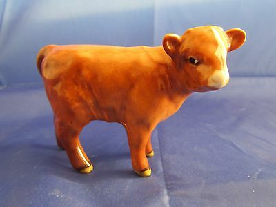 Beswick  HIGHLAND CALF in Gloss  Model 1827d  ( issued 1962-90 ) Perfect