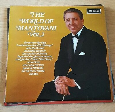 The World of Mantovani Volume 2 (Vinyl Record LP)