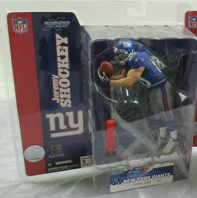 New York Giants Jeremy Shockey Nfl Mcfarlanes Series 7 Neu Ovp