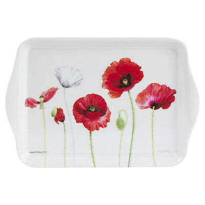 NEW Ashdene Poppies Small Scatter Tray