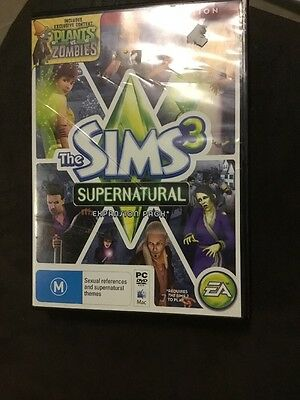 The Sims 3 Supernatural Expansion Pack PC DVD ROM