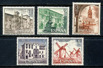 1973 SPAIN . Tourism (1756-1760) . Mint Never Hinged