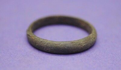 Viking period copper alloy band ring 10th century AD