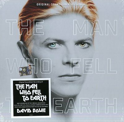 Bowie David - The Man Who Fell To Earth Colonna Sonora Box 2Cd+2 Lp Nuovo
