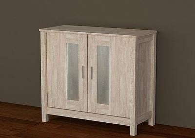 Sonoma Light Oak Wooden Sideboard Cabinet Hallway Storage Unit Stand With Doors