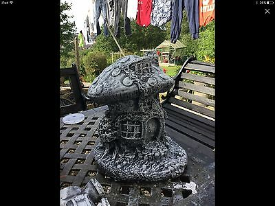 Large stone fairy house lovely item garden ornament