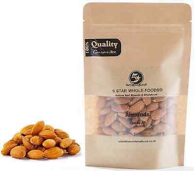 Almonds Whole Premium Quality Raw Natural 500g / 1kg