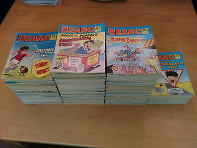 Beano Comic Libraries, Large Collection #15 - 367, x185 Issues, No Duplicates