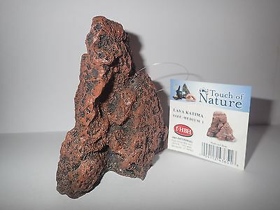 Medium 1 Lava Katima Rock Fish Tank Hide/Ornament