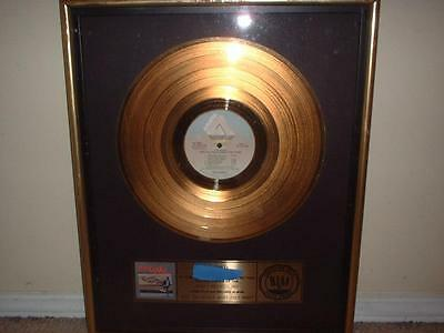 """The Kinks Riaa Gold Record Award """"give The People What They Want""""  Better Things"""