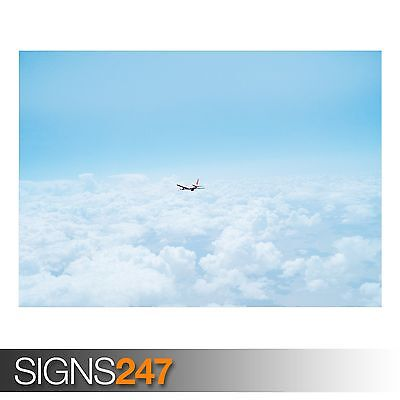 Photo Poster Print Art * All Sizes AIRCRAFT POSTER AIRPLANE TAKE OFF AA006