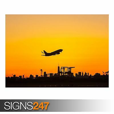 Photo Poster Print Art * All Sizes AA042 AIRCRAFT POSTER LUFTHANSA AIRPORT