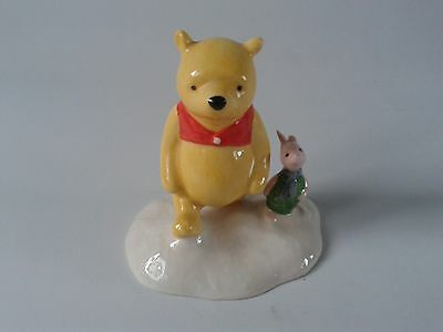 """Royal Doulton Winnie the Pooh """"The more it snows Tiddely Pom"""" WP20"""