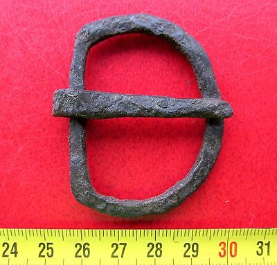 Ancient Viking Iron Belt Buckle