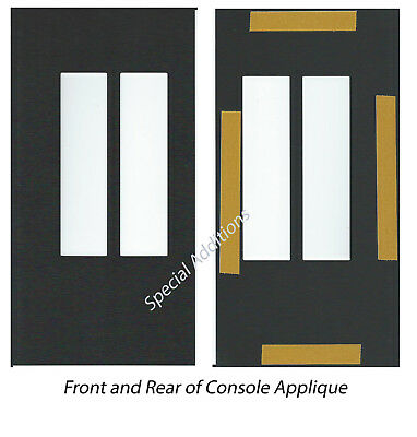Buick Grand National Console and Ashtray Applique 3 Piece Kit