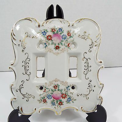 Vintage Arnart Creation Japan Light Switch Plate #7311 Shabby Chic Colors
