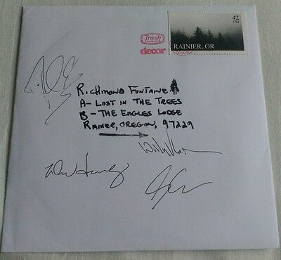 "Richmond Fontaine - Lost In The Trees 7"" Vinyl (Rare) *Signed*"