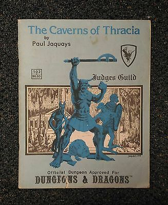 The Caverns of Thracia