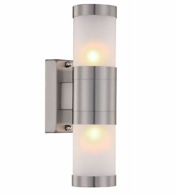 LED Security Garden Outside Waterproof Wall Spot Up Down Light Lamp Bulb Fitting