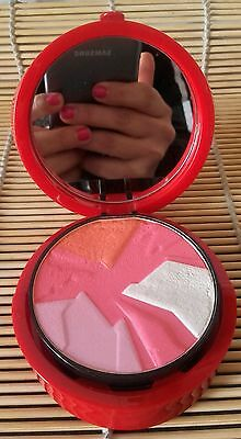 GIORGIO ARMANI ECCENTRICO Blush And Highlighter Palette Made In Italy