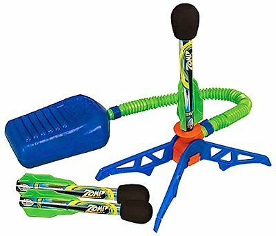 New Air Powered Stomp Rocket Launcher Toy Flying Game Kids Gift by Zing Zong